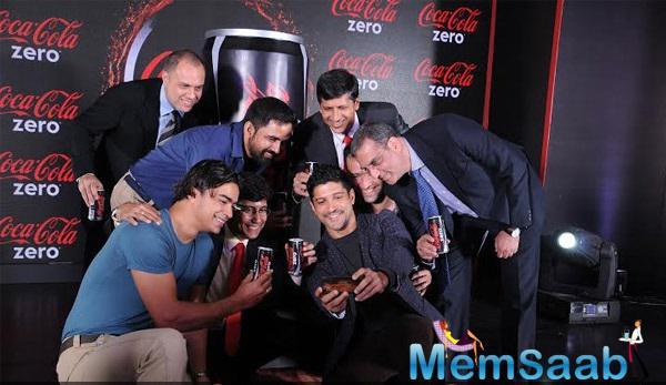 Farhan Akhtar Launches Zero Sugar Drink
