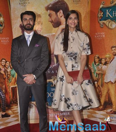 Fawad Khan And Sonam Kapoor Organised A Special Screening Of Khoobsurat For NGO Kids