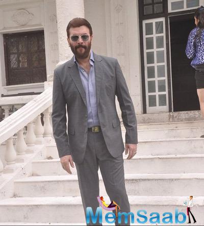 Aditya Pancholi Dapper Look Pose For Camera On The Sets Of Mumbai Can Dance Saala
