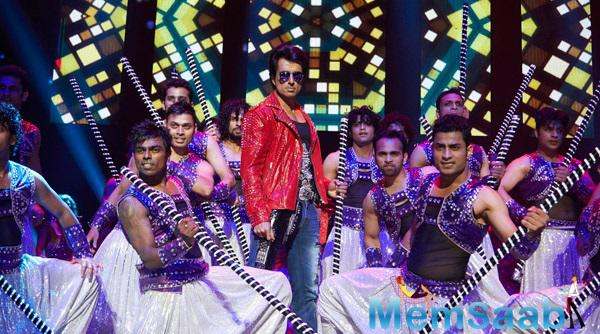 Sonu Sood Performed At SLAM ! The Tour Concert