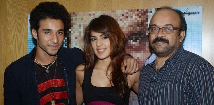 Acharya,Rhea And Raghav Spotted For Sonali Cable Promotion