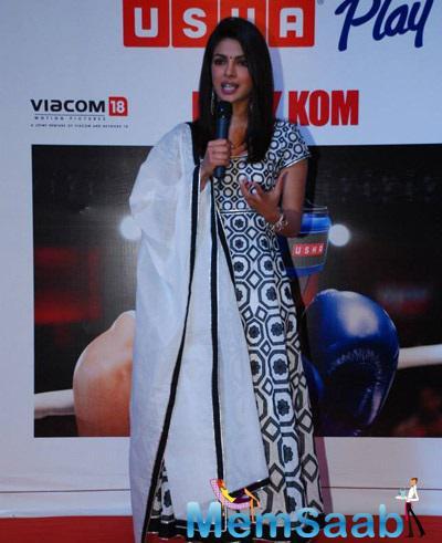 Priyanka Chopra Celebrates The Success Of Mary Kom