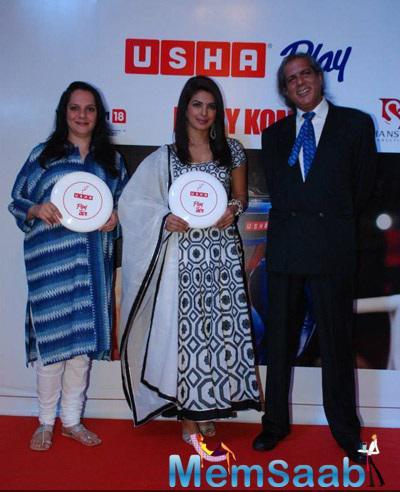 Priyanka Chopra Spotted At Usha Event