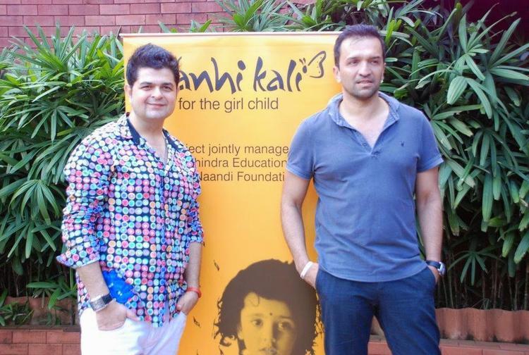 Dabboo Ratnani And Atul Kasbekar Posed For Camera During Nanhi Kali Event For Mahindras