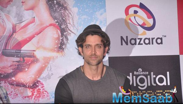 Dashing Hrithik Launched Mobile Game Developed By Nazara Technologies