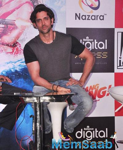 Hrithik Roshan Fields Media Query During The Promotion Of His Movie Bang Bang