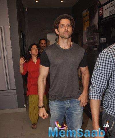 Hrithik Roshan Leaves After Unveiling Bang Bang Mobile Game
