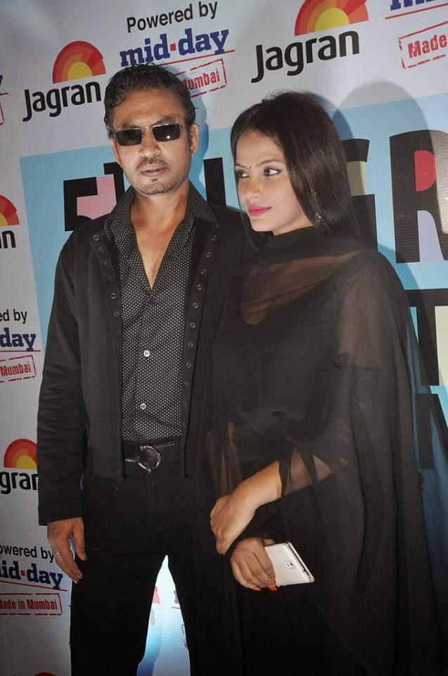 Irrfan And Neetu Spotted The Opening Ceremony Of 5th Jagran Film Festival