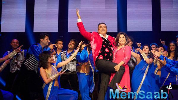 Boman Irani And Farah Khan Cool Performance At Their Promotion Venture SLAM In Washington