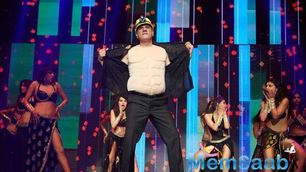 Boman Irani Cool Performance On Stage During Their Promotion Venture SLAM In Washington