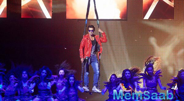 Sonu Sood Rocking Pose While Entering The Stage At Their Promotion Venture SLAM In Washington