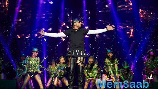Yo Yo Honey Singh Performs During Their Promotion Venture SLAM In Washington