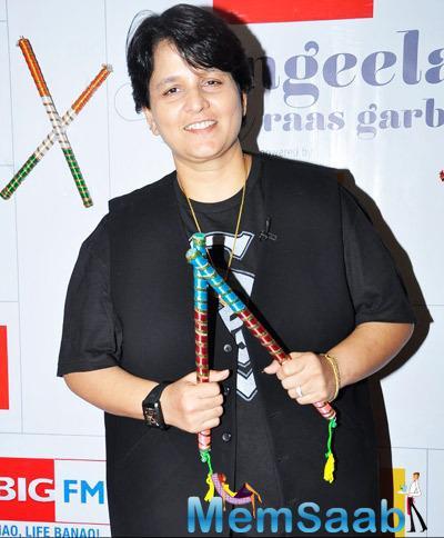 Falguni Pathak Celebrated 92.7 Big FM To Talk About The Dandiya Season