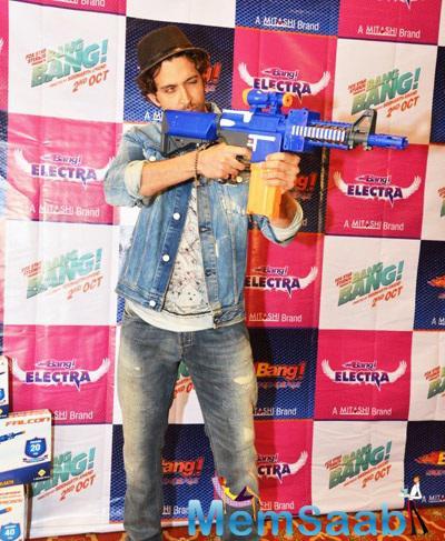 Hrithik Roshan Launches Mitashi Bang Bang Merchandise
