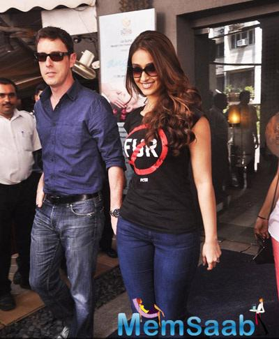 Ileana With Rumored Boyfriend Andrew Attended PETA Shutterbugs