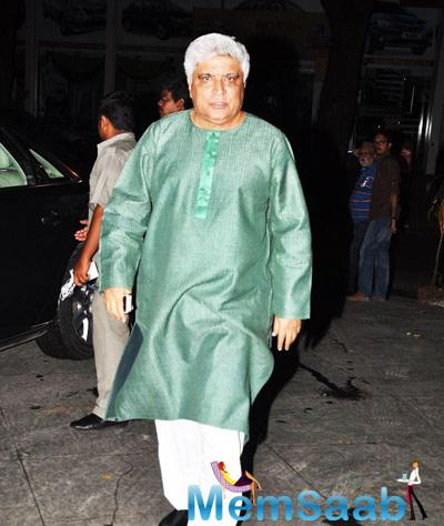 Javed Akhtar At Dil Dhadakne Do Completion Bash