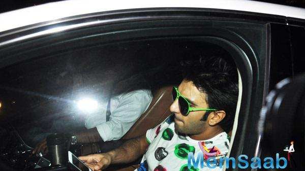 Ranveer Singh Arrives Dil Dhadakne Do Wrap Up Party