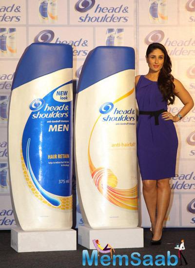 Kareena Kapoor Launches Head And Shoulders New Range Shampoo