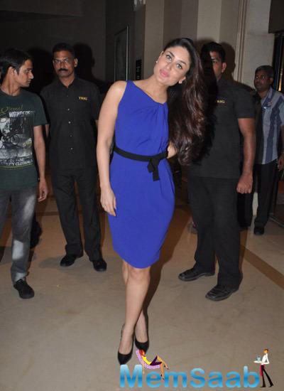 Kareena Kapoor Snapped At Head And Shoulders New Range In J W MArriott