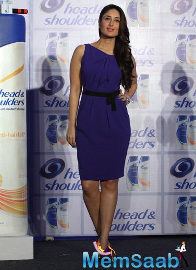 Kareena Kapoor Strikes A Sizzling Pose At Head And Shoulders Shampoo Brand Shutterbug