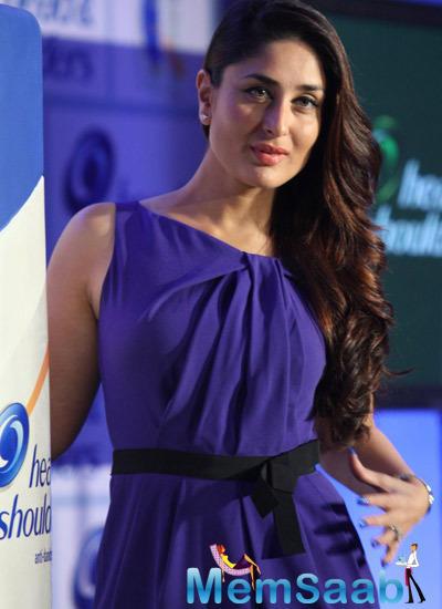 Kareena Spotted As A Brand Ambassador Of Head And Shoulders Shampoo