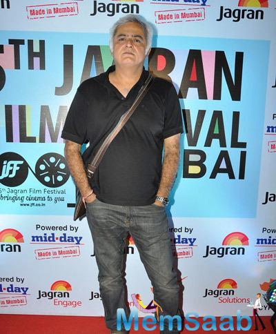 Hansal Mehta Present At The 5th Jagran Film Festival