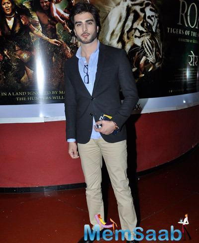 Imran Abbas Naqvi Handsome Look During The 5th Jagran Film Festival