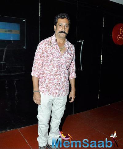 Mukesh Tiwari Smiling Pose At The 5th Jagran Film Festival
