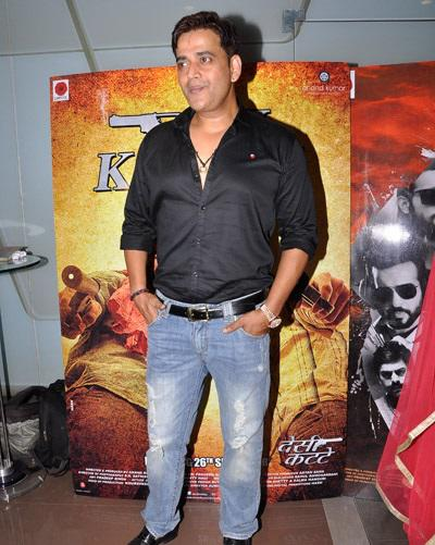 Good Friend Ravi Kishan Also Spotted At Desi Kattey Special Screening