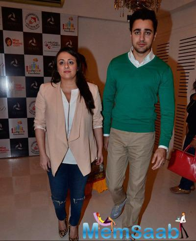 Avantika Malik Khan With Hubby Imran Khan Present At Impact NGO Event