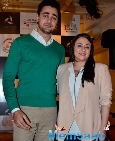 Imran Khan With Wife Avantika Malik Khan Spotted At Impact NGO Event