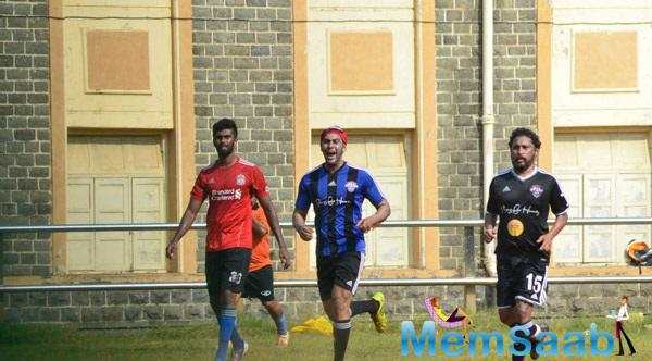 Bollywood Celebs Spotted At Scared Heart Boys High School For Playing Football