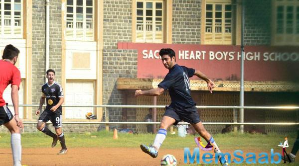 Dino Morea Was Playing Football With His Celeb Friends