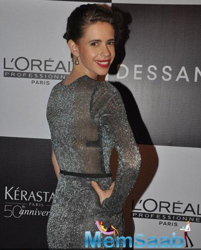 Kalki Koechlin At Dessange Paris 1st Anniversary Event And Fashion Show