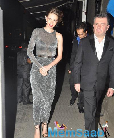 Kalki Koechlin Spotted At Dessange Fashion Show