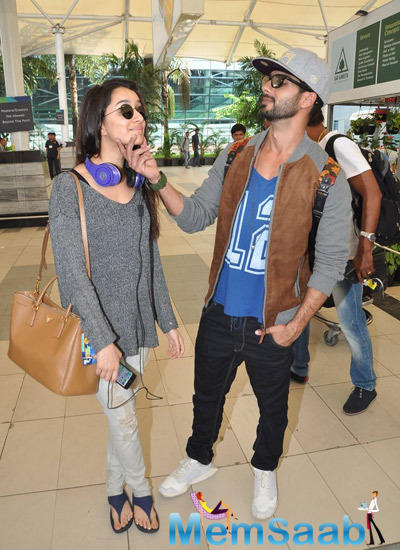 Shahid And Shraddha Rock It In Style At Haider Promotions