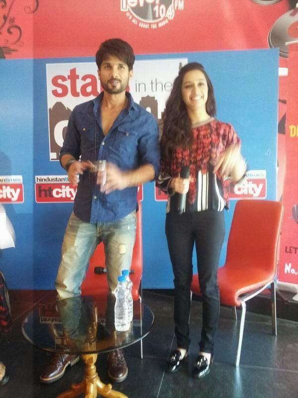 They Looked Cute Together During The Haider Promotion At Stars In The City