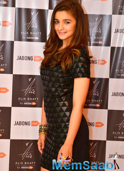 Alia Bhatt Has Turned Designer For E-Commerce Website Jabong