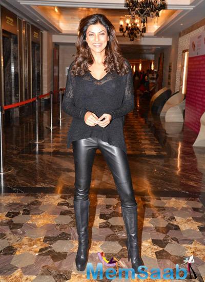 Sushmita Sen Stunning Look On Day 1 Myntra Fashion Weekend