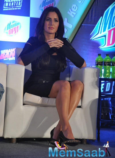 Katrina Kaif Unveils Mountain Dew Heroes Wanted Campaign