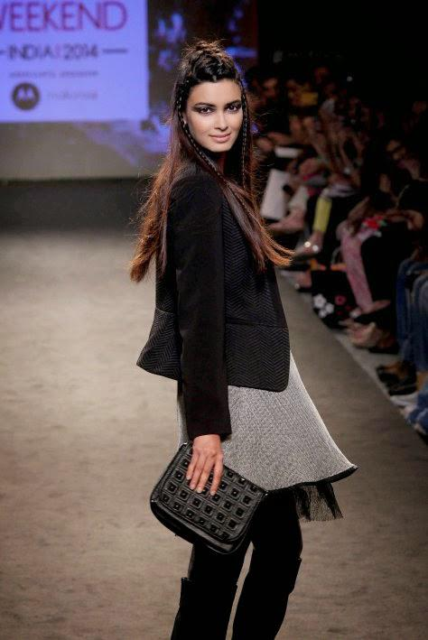 Diana Penty On The Ramp For Elle At Myntra Fashion Weekend 2014