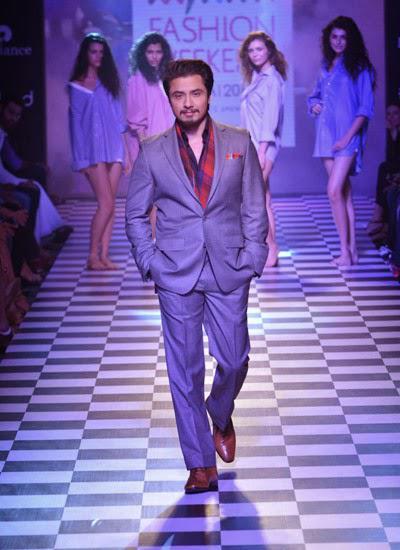 Ali Zafar Showstopper For Men's Health During Myntra Fashion Weekend 2014