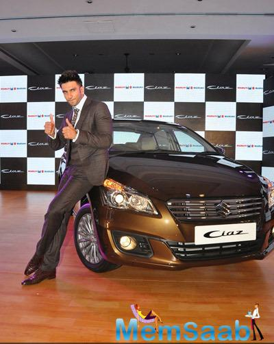 Ranveer Singh Is The Brand Ambassador For New Maruti Suzuki Ciaz