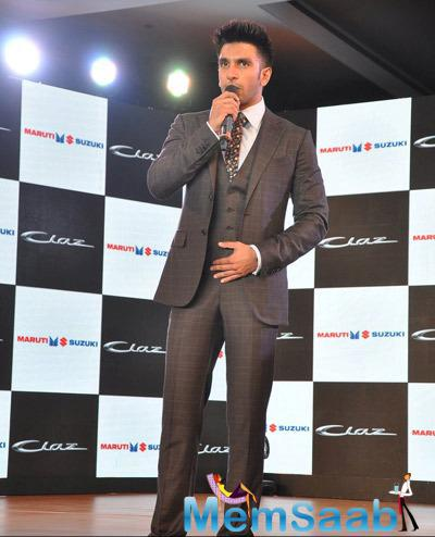 Ranveer Singh Spoke About The New Launch Of Maruti Suzuki Model