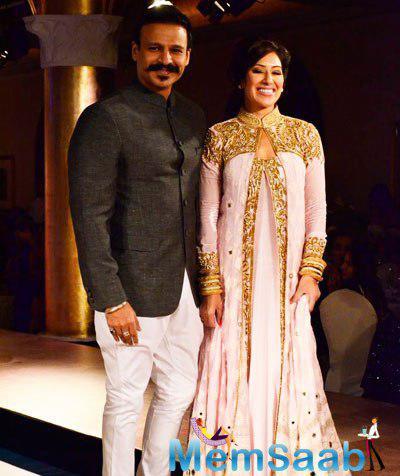 Vivek Oberoi On Ramp For Designer Maheka Mirpuri Charity Gala Show