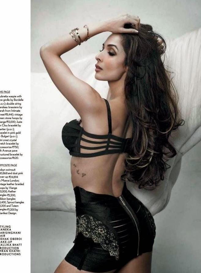 Hot Actress Malaika Arora Photo Shoot For Maxim Magazine October 2014 Issue