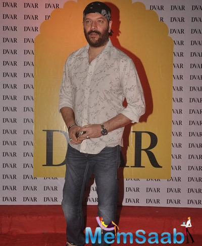 Aditya Pancholi In A Bearded Look At A Fashion Exhibit Hosted By DVAR