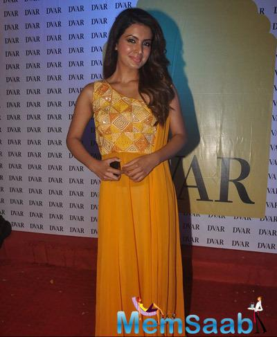 Geeta Basra Attended The DVAR Photography And Fashion Exhibition