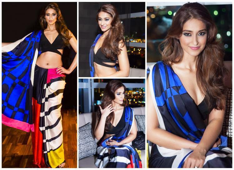 Ileana D'Cruz Makes A Splash In Saree At Satya Paul Show In Dubai