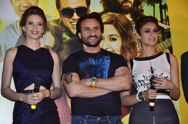 Saif,Ileana And Kalki Attend The Happy Ending Trailer Launch